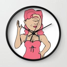 Monster Girl Pinups- Cyclops Wall Clock