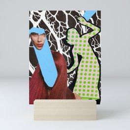Schizo-Neural Brain Storm Mini Art Print