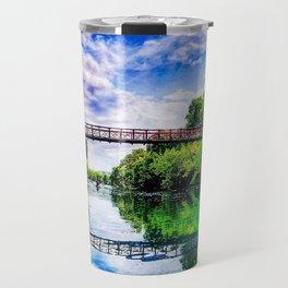 Barton Springs Bridge Travel Mug