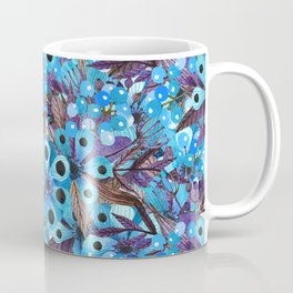 Exactly Where They'd Fall (Floral Pattern) Coffee Mug