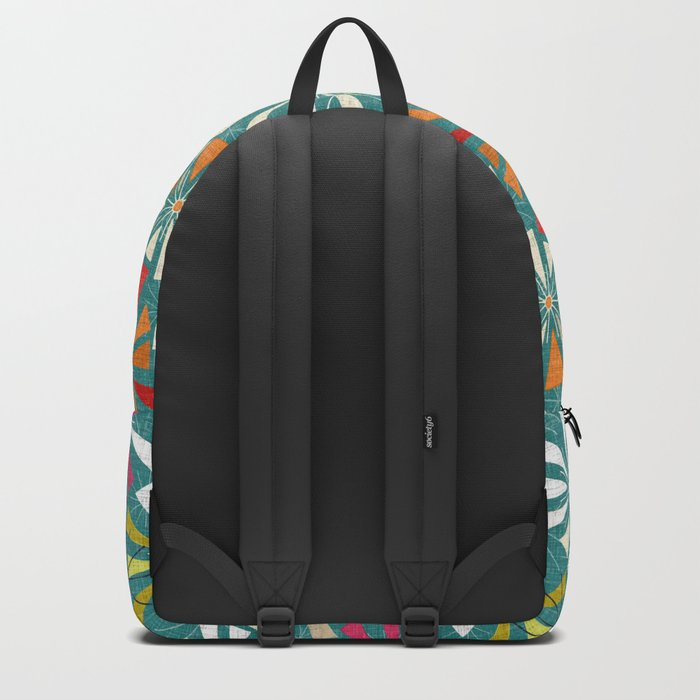 fireworks blue Backpack