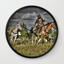 Cowboy Country Wall Clock