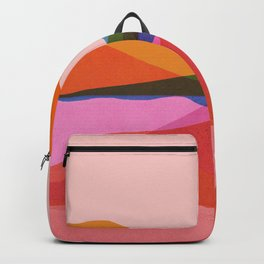 Abstraction_OCEAN_Beach_Minimalism_001 Backpack