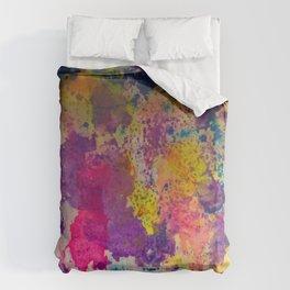 Water Color Fanatic Duvet Cover