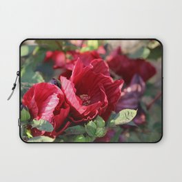 Glorious Giant Red Hibiscus Laptop Sleeve