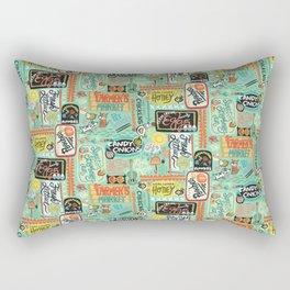 Farmer's Market Fun Rectangular Pillow