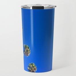 Palms and Sky Travel Mug