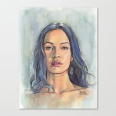 Megan Fox Canvas Print