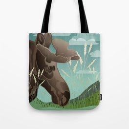 Shiras Moose Tote Bag