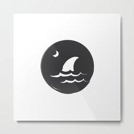 Fear the Sea Metal Print