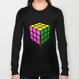The Cube, It's Melting Long Sleeve T-shirt
