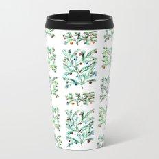 Xmas ornament || watercolor Metal Travel Mug