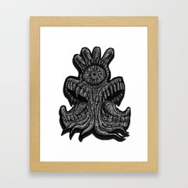 Blaarg Framed Art Print