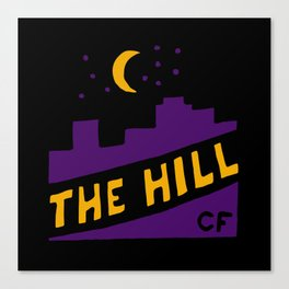 The Hill Canvas Print