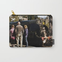 The Train Now Standing Carry-All Pouch