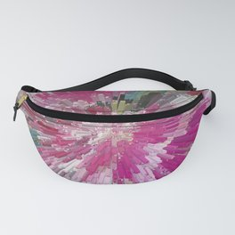 Abstract flower pattern 3 Fanny Pack
