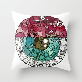 EYE!!! Throw Pillow