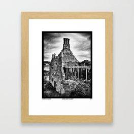 Sliping Away Galway Framed Art Print