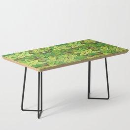 Spring leaves Coffee Table