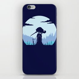 Grey Wolf Sif (Dark Souls) iPhone Skin