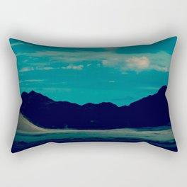 Flash of Rainbow Rectangular Pillow