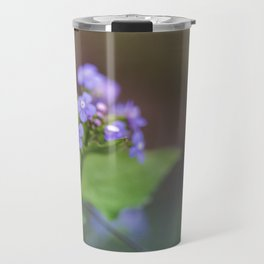 Siberian Bugloss Flower Travel Mug