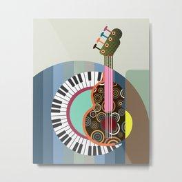 Music Theory II Metal Print