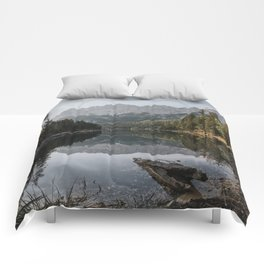 Lake View - Landscape and Nature Photography Comforters