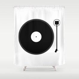 gramofon Shower Curtain