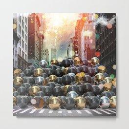 New York City Ball Pit Metal Print