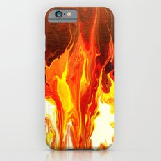 Fire - Modern Art  iPhone 6s Slim Case