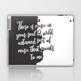 Wintersong - There is Music in Your Soul Laptop & iPad Skin