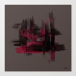 """""""Abstract Porstroke"""" Canvas Print"""