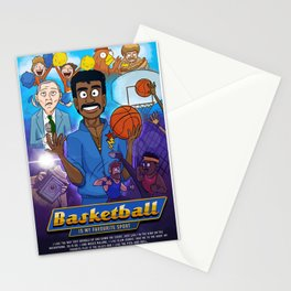 Basketball is Kurtis' favourite sport Stationery Cards