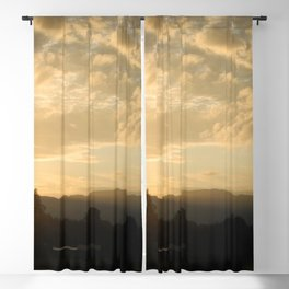 Golden Skies Blackout Curtain