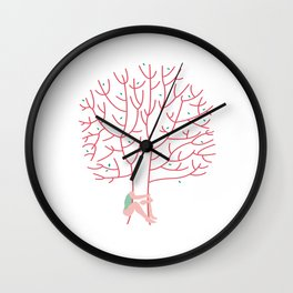 treehugger Wall Clock