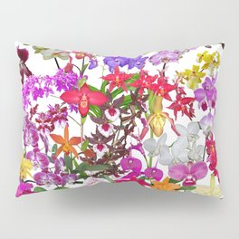 A celebration of orchids Pillow Sham
