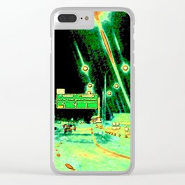A Little Night Drive Clear iPhone Case