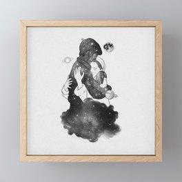The feeling you gave me. Framed Mini Art Print