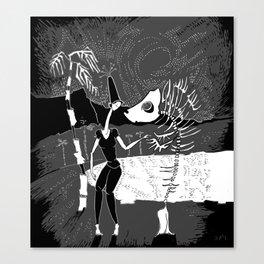 An unwritten story Canvas Print
