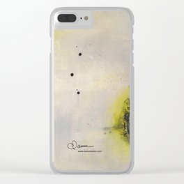 Scattered Energy Clear iPhone Case