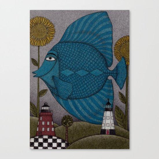 It's a Fish! Canvas Print