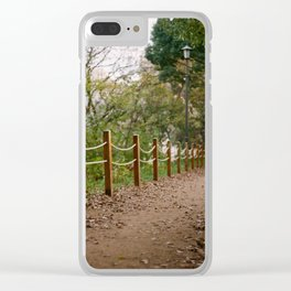 The Path to Autumn Clear iPhone Case