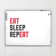 EAT SLEEP REPEAT Laptop & iPad Skin