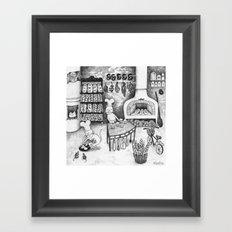 Baking Cats Framed Art Print