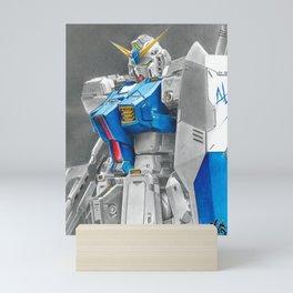 Gundam Alex Mini Art Print