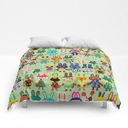 Rabbit Crossing Comforters