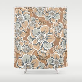 Mandala Flowers 11 Shower Curtain