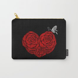 A Butterfly to be, a Rose to blossom... Carry-All Pouch