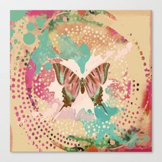 The Butterfly Experiment Canvas Print